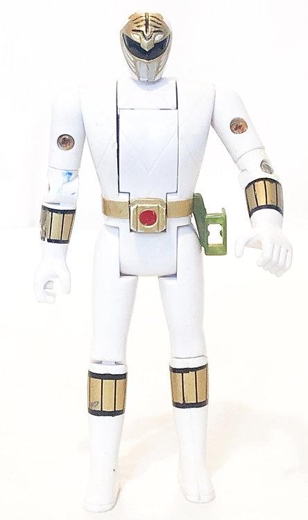Mighty Morphin Power Rangers White Ranger Flip Head Bandi 1994