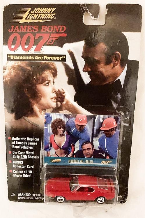 James Bond 007 Diamonds Are Forever Die-Cs Johnny Lightning 1995 (B)