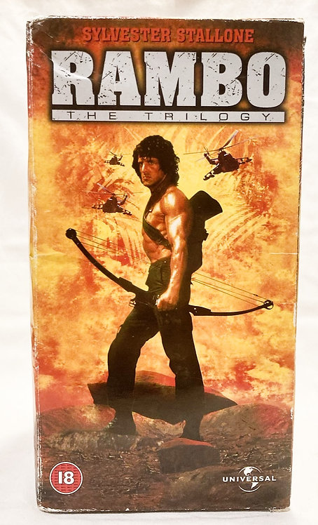 Rambo The Trilogy VHS