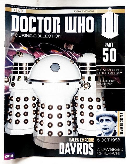 Doctor Who Figurine Collection 50 Dalek Emperor Davros