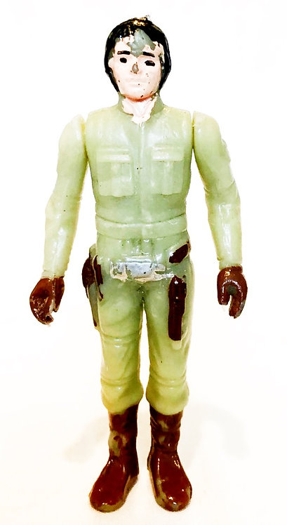Vintage Star Wars Luke Bespin Part Articulated Mexican Bootleg