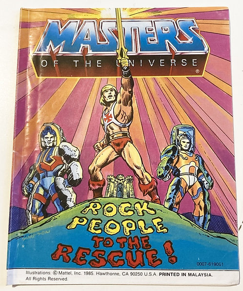 He-Man And The Masters Of The Universe Rock People To The Rescue