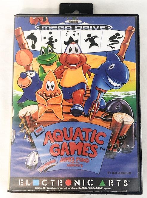 The Aquatic Games Jame Pond Mega Drive  U.K. (PAL)