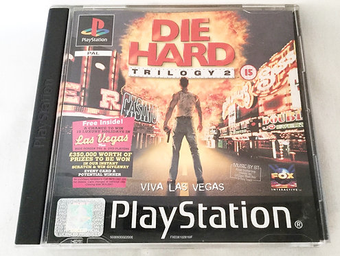 Die Hard Trilogy 2 PlayStation Game UK (PAL)
