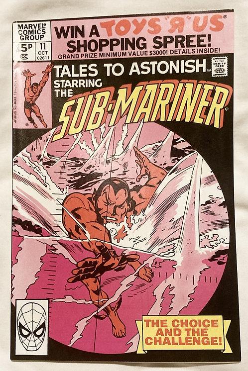 Marvel Tales To Astonish Sub-Mariner #11 October 1979