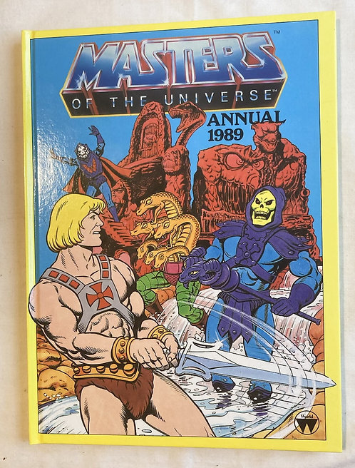 He-Man And The Masters Of The Universe Annual 1989