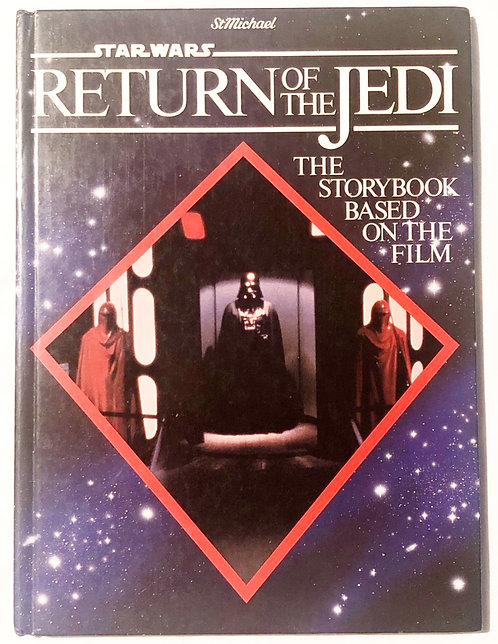 Vintage Star Wars Return Of The Jedi Story Book  1983