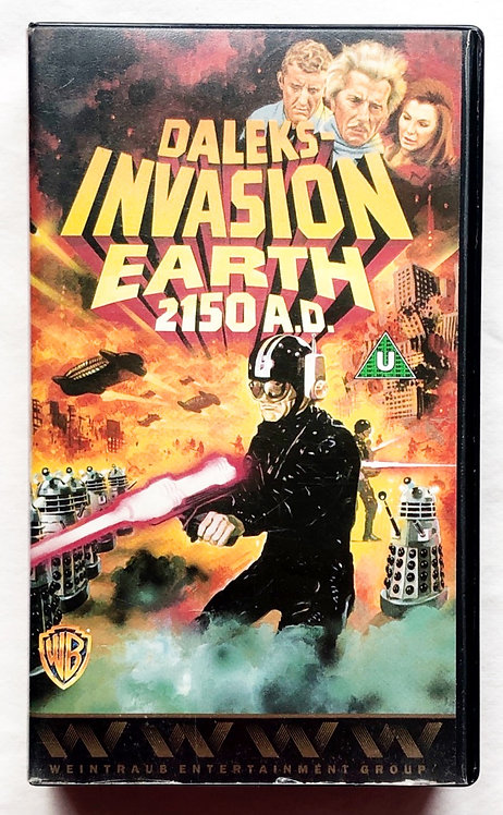 Doctor Who Daleks Invasion Earth 2150 A.D. VHS