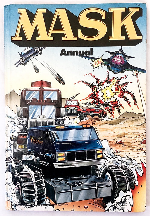 M.A.S.K. Annual 1989