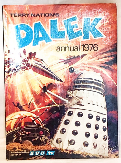 Doctor Who Terry Nation's Dalek Annual 1976