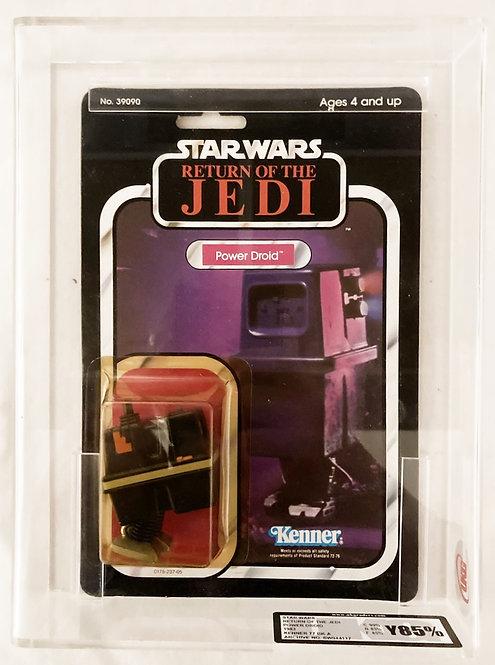Star Wars Return Of The Jedi power Droid UKG 85% Kenner 1983
