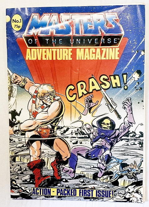 He-Man And The Masters Of The Universe Adventure Magazine No. 1  1987