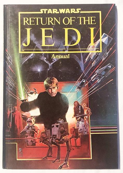 Vintage Star Wars Return Of The Jedi Annual  1983