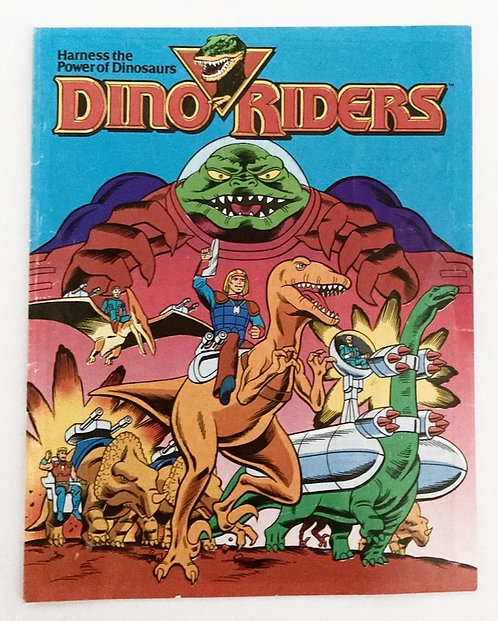 Dino Riders The Adventure Begins Mini Comic