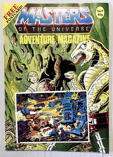 He-Man And The Masters Of The Universe Adventure Magazine No. 9  1987