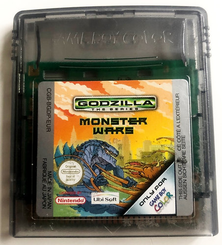 Nintendo Gameboy Colour Godzilla The Series Monster Wars 1998