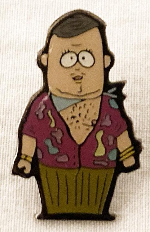 South Park Big Gay Al Pin Badge Comedy Central 1998