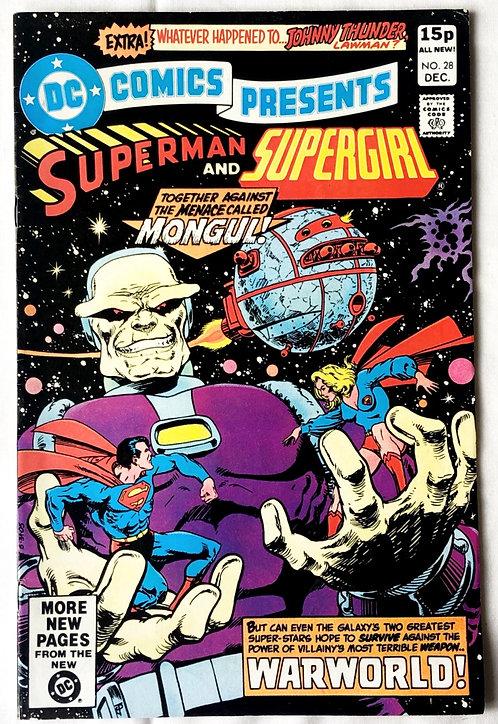 DC Comics Presents Superman And Supergirl #28 1980