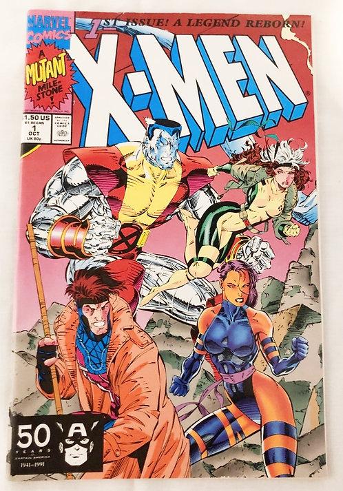 X-MEN # 1 Marvel 1991
