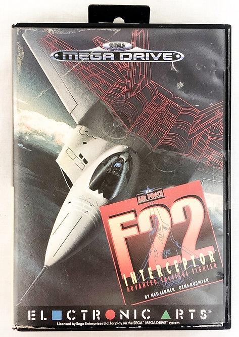 F22 Interceptor Sega Megadrive U.K. (PAL)