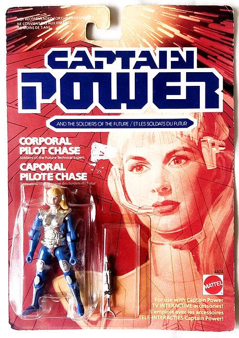 Captain Power Corporal Pilot Chase Mattel 1987