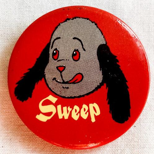 Sooty Sweep Badge Comic Exclusive 1991