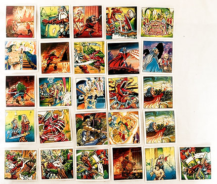 HeroQuest Stickers (Set 6) 1991