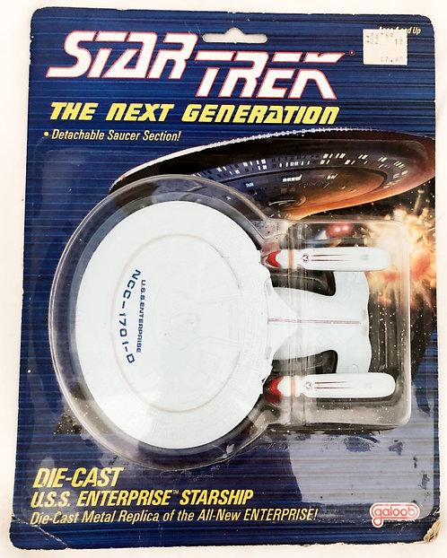 Star Trek The Next Generation Die-Cast U.S.S. Enterprise Galoob 1998