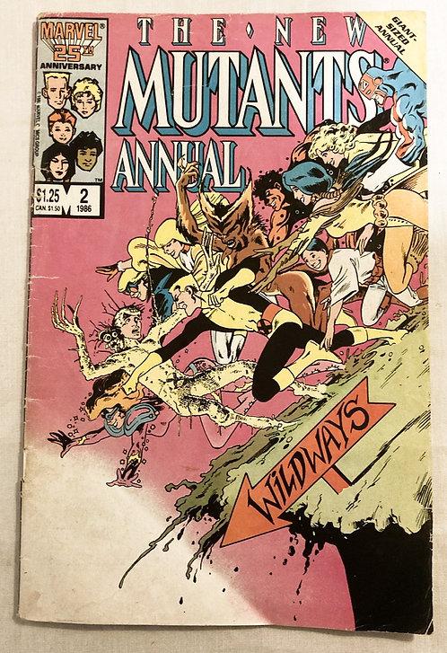 Marvel The New Mutanta Annual No2 1986