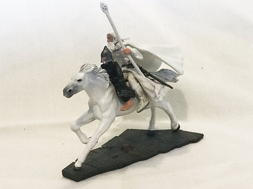 Lord of the Rings Gandalf And Pippin Mounted Mini Figures