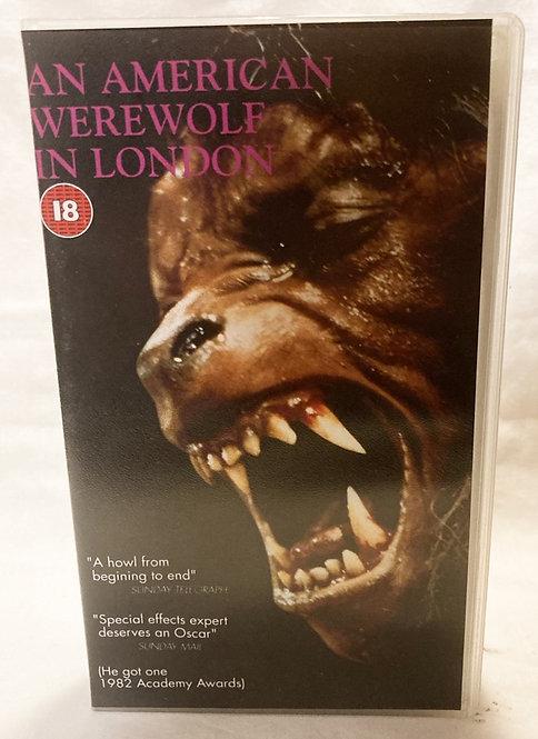 An American Werewolf In London VHS