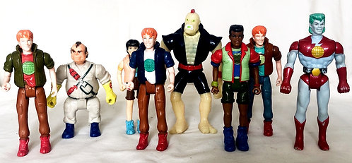 Captain Planet Figure Set 1991