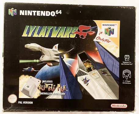 Nintendo N64 Cylat Wars With Rumble Pak (PAL) 1997