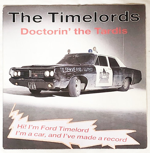 Doctor Who The Timelords Doctorin' The Tardis Vinyl 1988