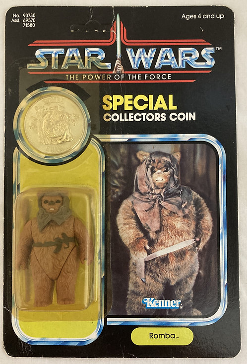 Vintage Star Wars The Power Of The Force Romba With Coin MOC 1984