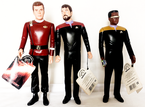 Star Trek Generations 8'' Figure Set Applause 1994