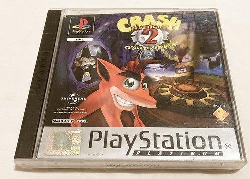 Sony Playstation Crash Bandicoot 2  (Pal) UK