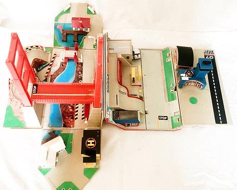 Micro Machines Tool Box Playset And Vehical Galoob 1988