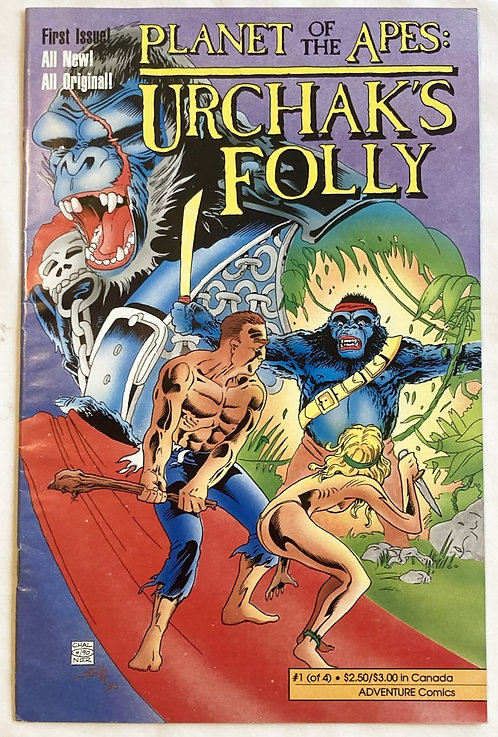 Planet Of The Apes Urchak's Folly No 1 Adventure Comics 1990