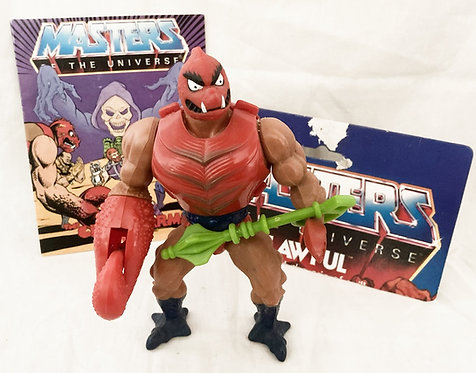 He-Man And The Masters Of The Universe Clawful Mattel 1984