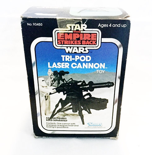 Vintage Star Wars The Empire Strikes Back  Tri-Pod Laser Cannon Kenner 1982