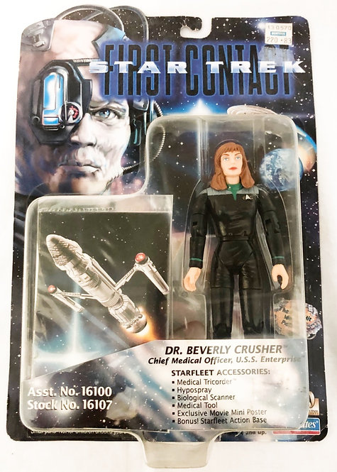 Star Trek First Contact Dr. Beverly Crusher Playmates 1995