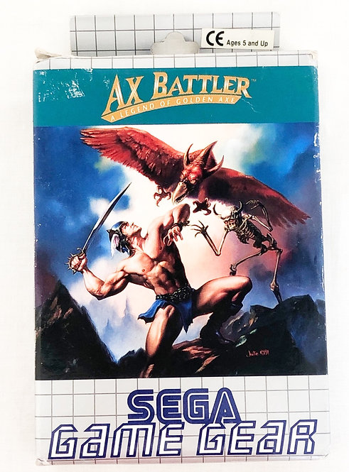 Ax Battler Sega Game Gear 1991