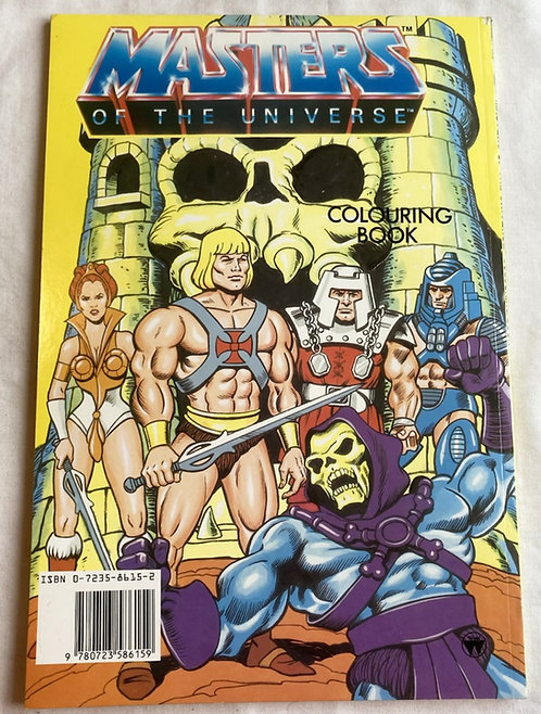 He-Man And The Masters Of The Universe Colouring Book 1986