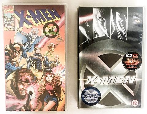 X-Men VHS Set