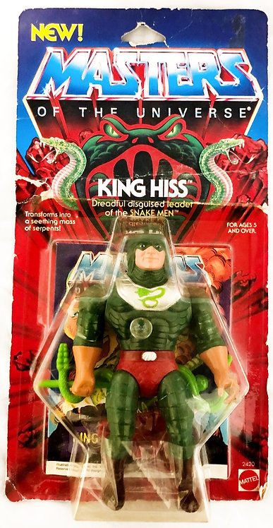 He-Man Masters Of The Universe King Hiss 1985 Malaysia