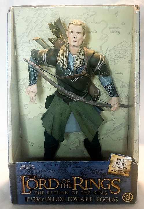 The Lord Of The Rings Return Of The King Legolas 28cm Posable Toy Biz