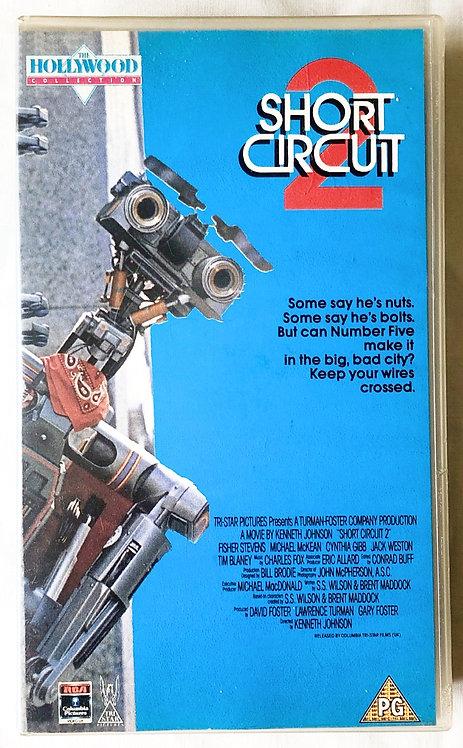 Short Circuit 2 VHS 1988