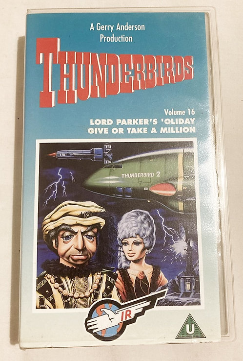 Thunderbirds Volume 16 VHS
