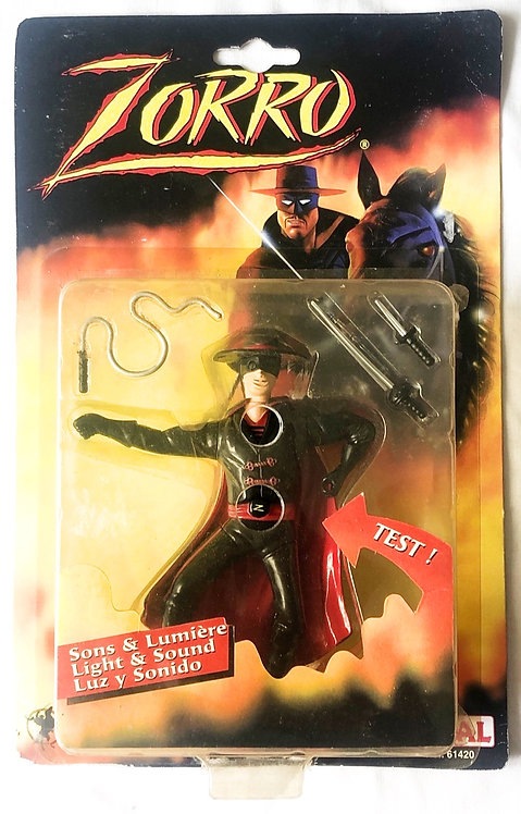 Zorro Light And Sound Figure Ideal 1999